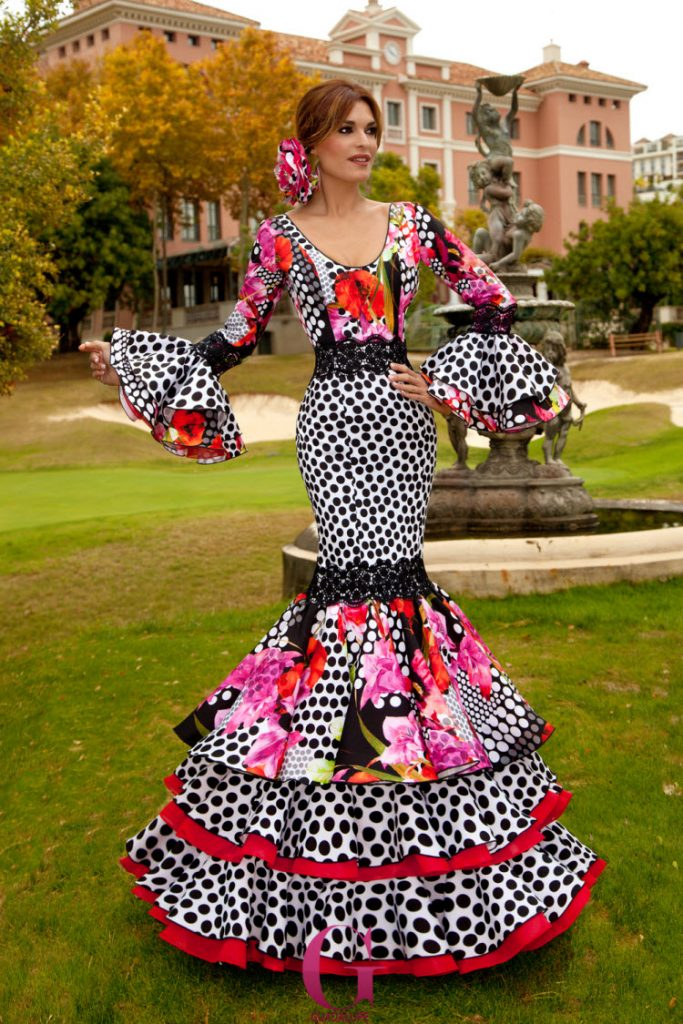 flamenco-dress-black-pink