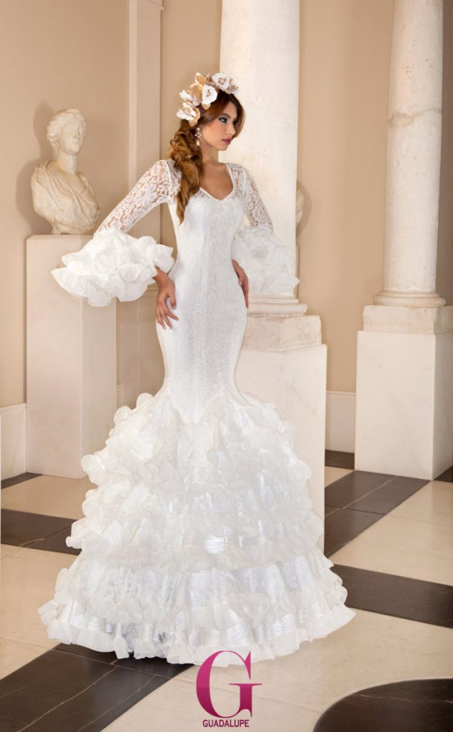 Flamenco-wedding-dress
